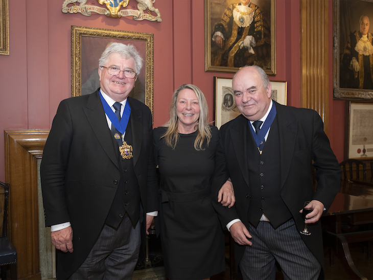 Tracy Mackness, Graham Baker and Tim Dumenil